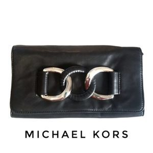 NWT MICHAEL KORS | Oversize Leather ID Clutch